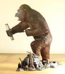 King Kong with real Hair 2