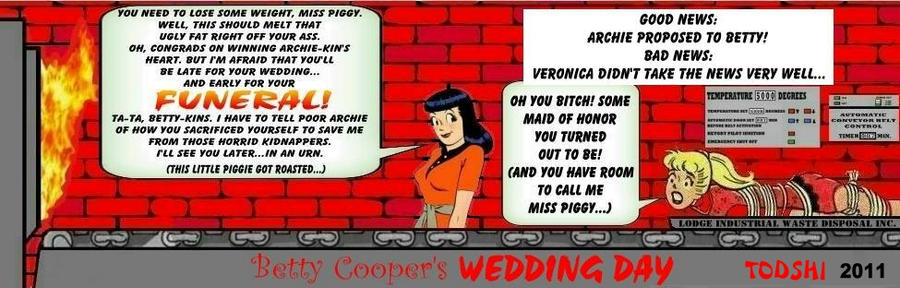 Betty Cooper's Wedding Day by Todshi on DeviantArt