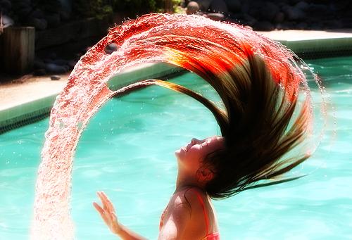 прически из воды фото