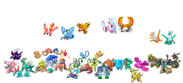 Shinylegendary explore shinylegendary on deviantart - Evolution pokemon legendaire ...