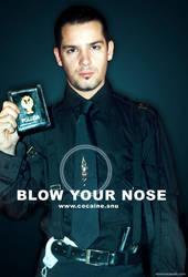 cocaine addict policeman by etiennezerah
