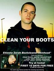 bootcleaner skinhead by etiennezerah