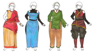 Bender Outfit Designs