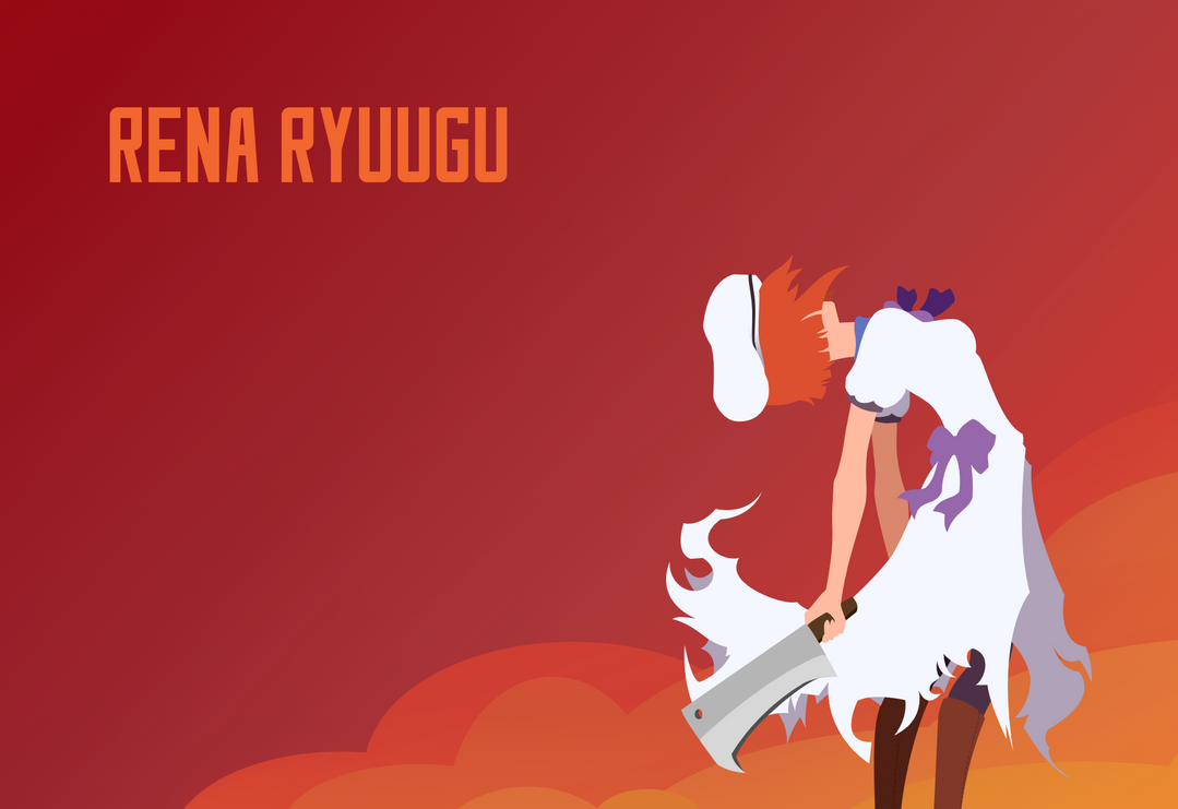Rena Ryuugu Minimalist by Hot-Gothics