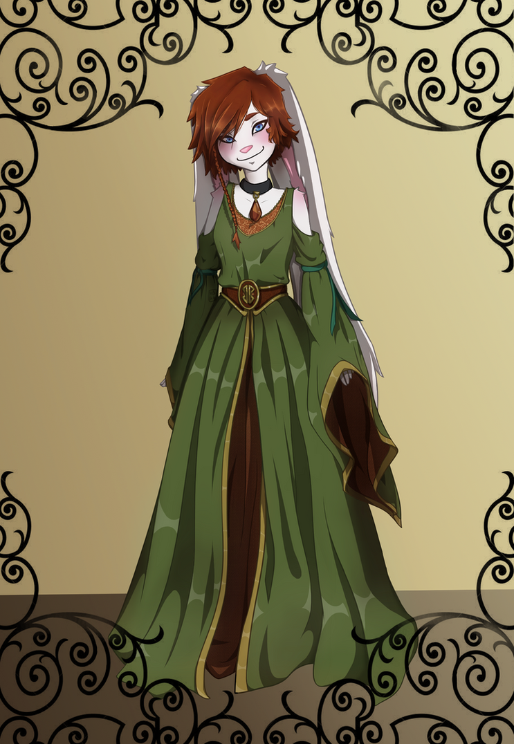 Princess Omorphia's More Traditional Gown by Hot-Gothics