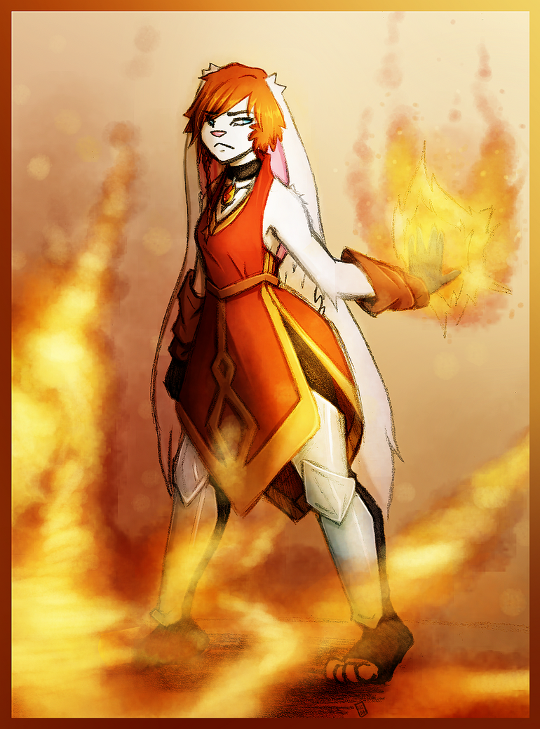 The Fiery Temper of a Redhead [Non-Canon] by Hot-Gothics