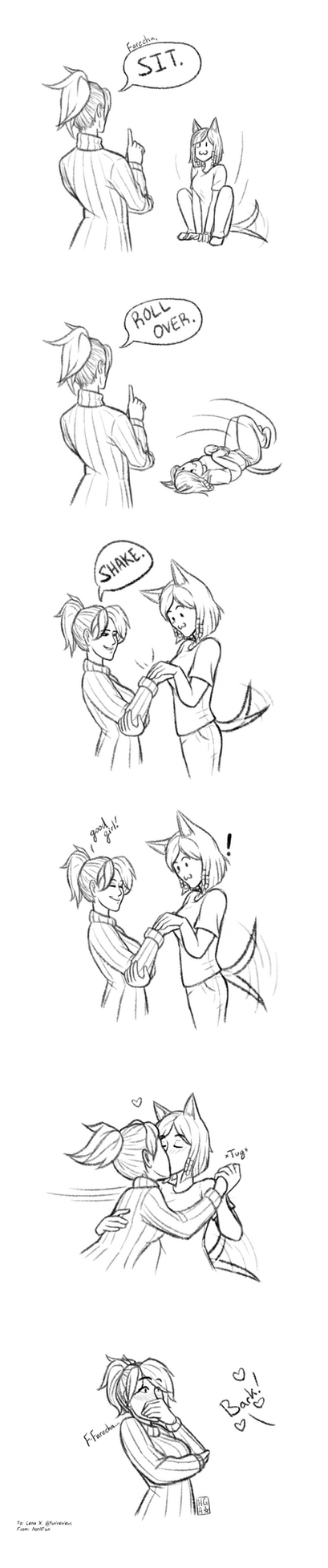 Pharmercy - How to Train Your Pharah by Hot-Gothics