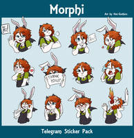Morphi Telegram Sticker Pack by Hot-Gothics