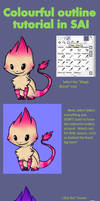 Colourful outline tutorial