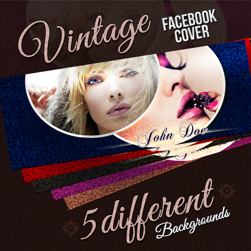 Vintage Facebook Cover by xhzad
