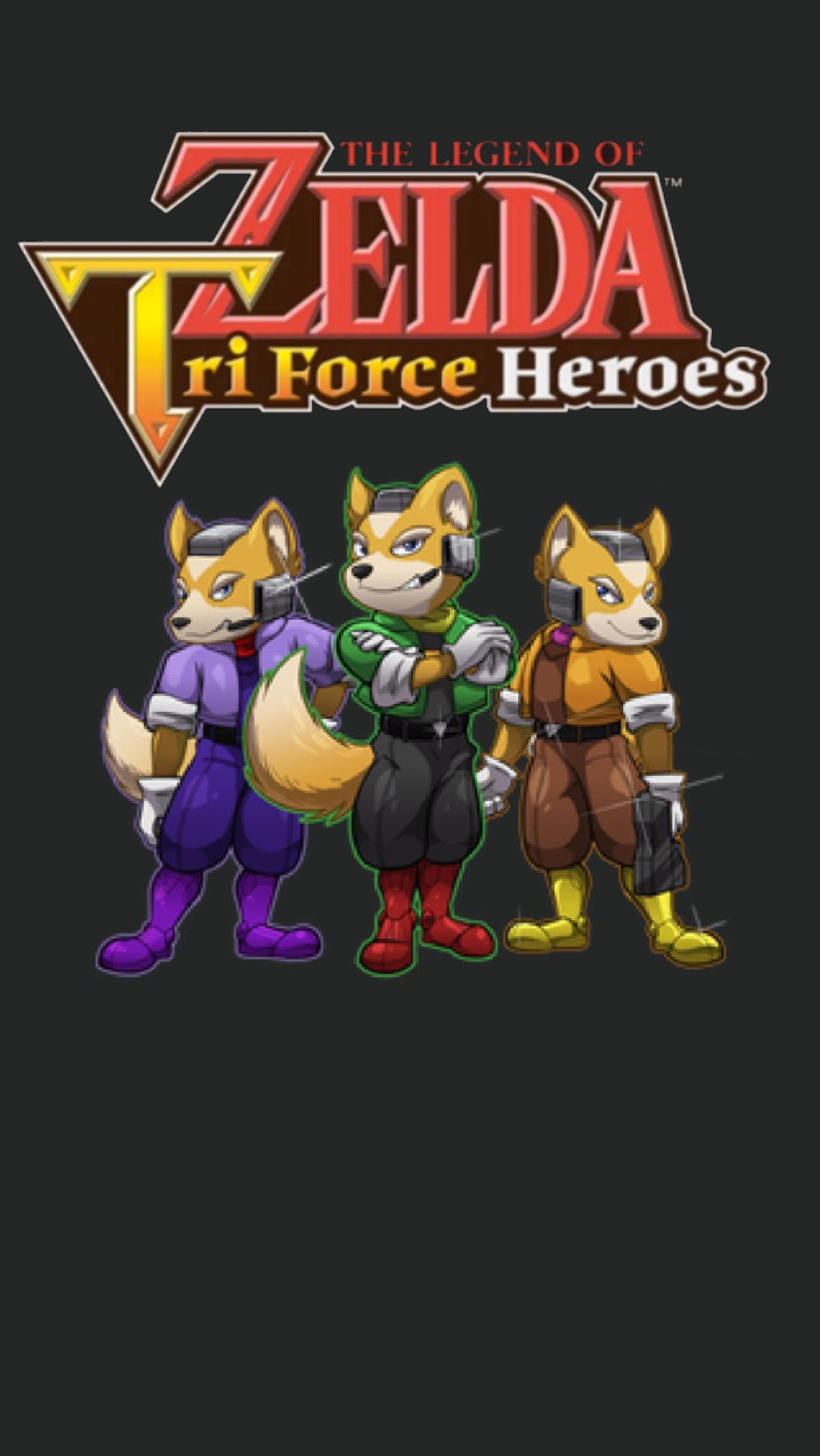 The Legend Of Star Fox Triforce Heroes By Mrysoserious8