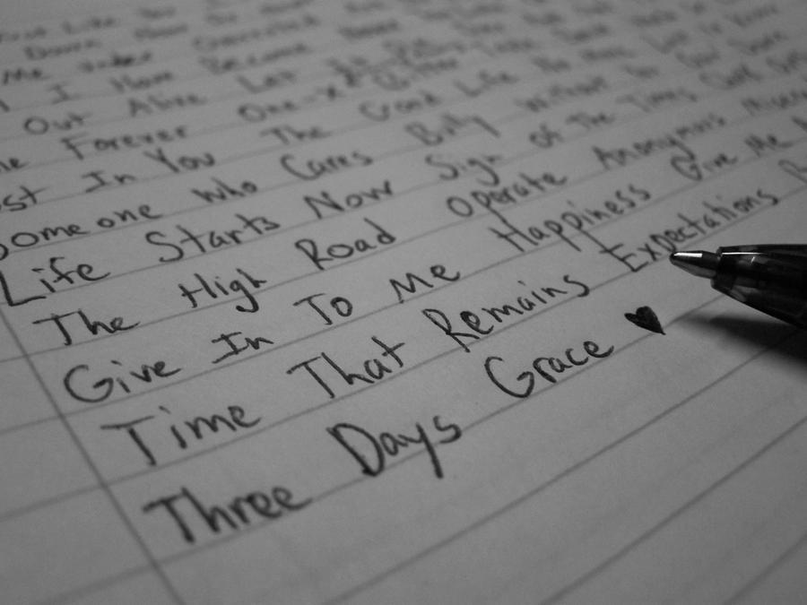 Three Days Grace Songs Run In My Head by Nevbreak