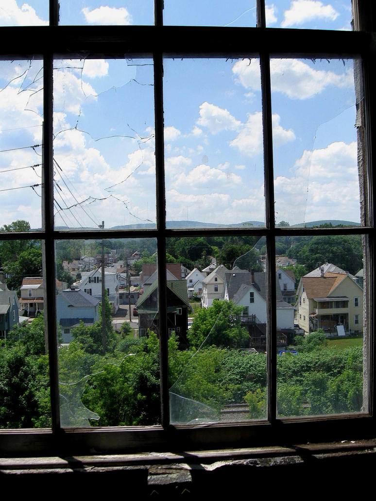Broken window by tolcott