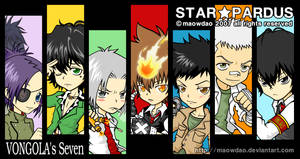 KHR : VONGOLA's Seven by MaowDao