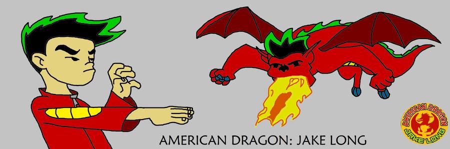 Комикс американский дракон