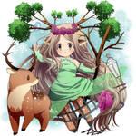 - Chibi commission - mikashi by janirotluvx