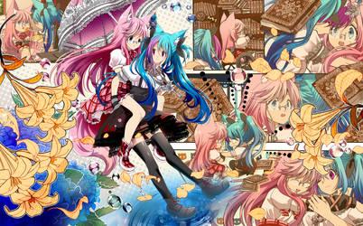 -Manga style commission -  kitsuneonwheelz