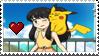 PKMN SM Karen and MimiPi Stamp
