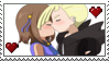 Horizon Shipping Gladion X Rosie Stamp by Bel-TheSweet-Sylveon