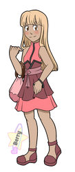 {PKMN Sun and Moon OC} Melochia by Bel-TheSweet-Sylveon