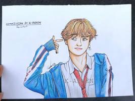 Kim Taehyung DNA - Traditional Drawing