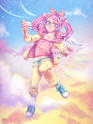Pastel Girl Challenge - Full Drawing