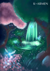 Navi's forest - Digital Painting