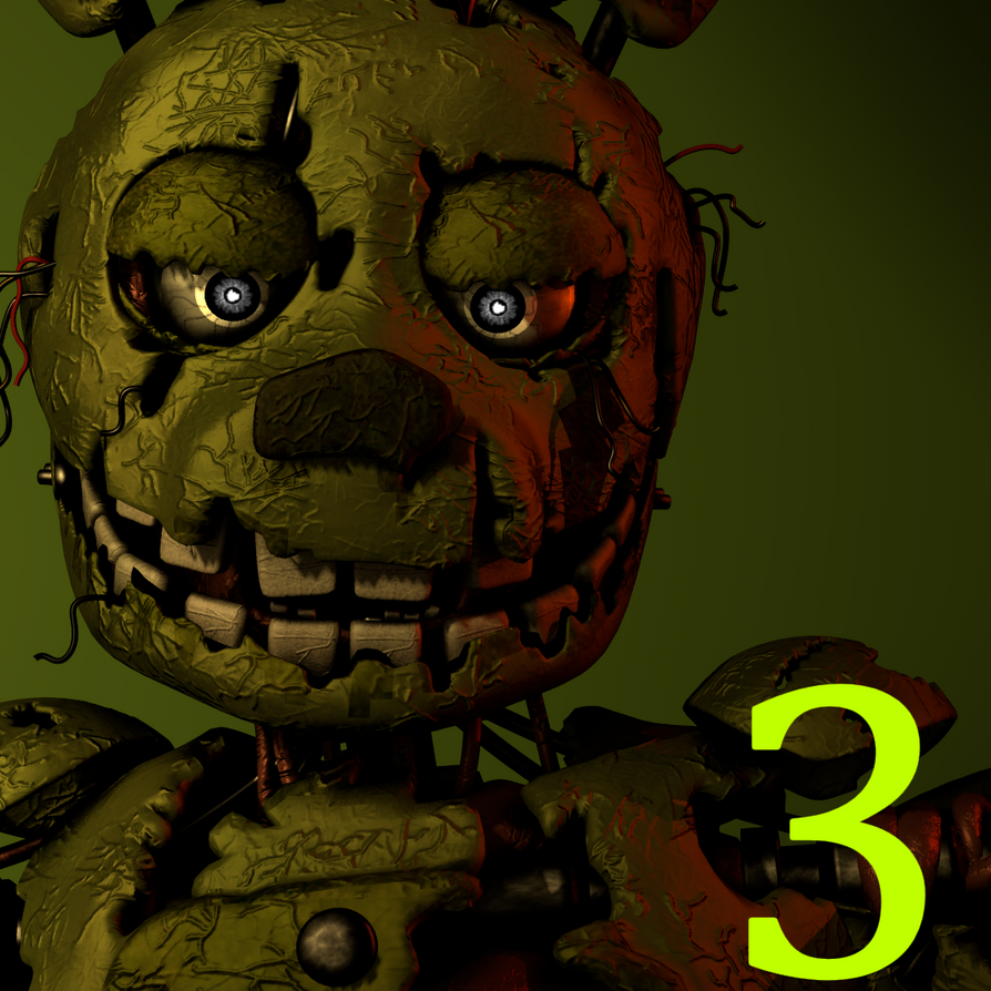 Another Springtrap Icon REMAKE By GavinSFMs On DeviantArt