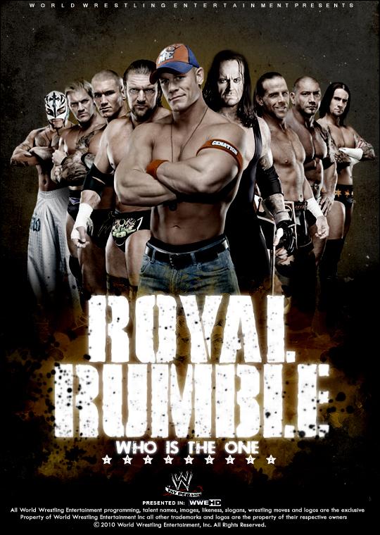 Royal Rumble 2010 Take one. by ZT0