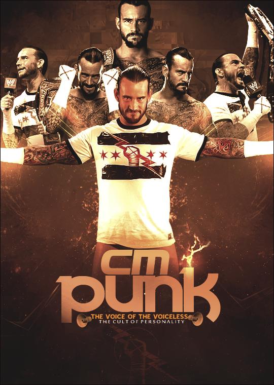 CM Punk poster. by ZT0