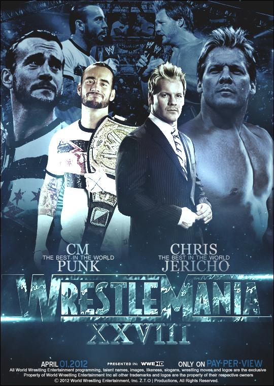 Wrestlemania 28. by ZT0