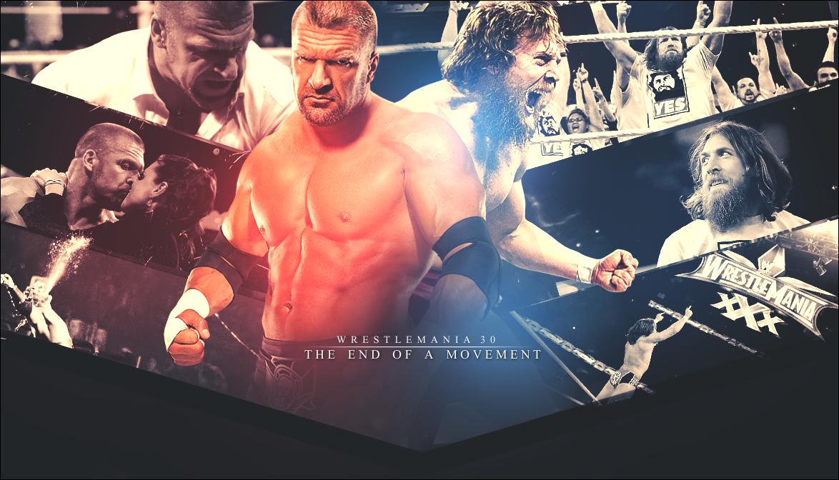 Daniel Bryan vs. Triple H - Wrestlemania 30 by ZT0 on ...Daniel Bryan Wrestlemania 30 Wallpaper