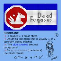 Dead Pegasus Patch Pattern