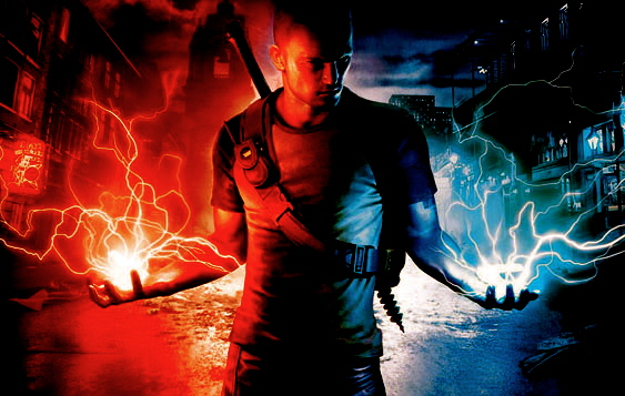 gallery for infamous 2 cole wallpaper