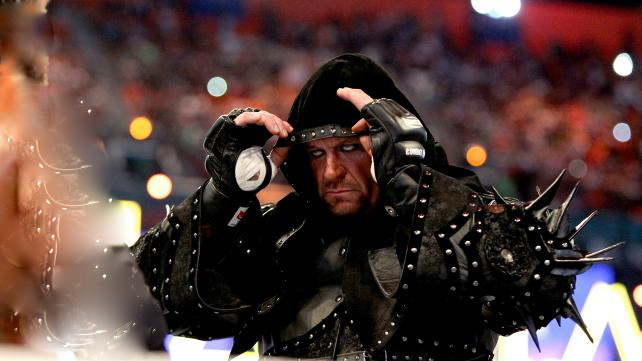 undertaker vs triple h wrestlemania 28