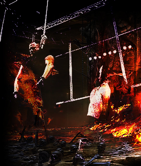 Boss man vs Undertaker hell in a cell by barrymk100 on