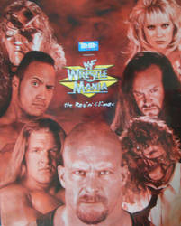 Wrestlemania 15 poster by barrymk100