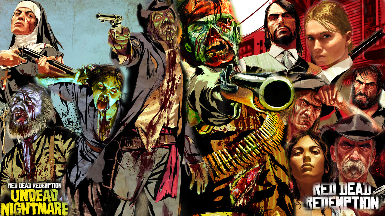 Red Dead Redemption And Undead Nightmare By Barrymk100 On Deviantart