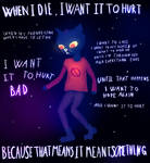 Night in the woods - I want it to hurt