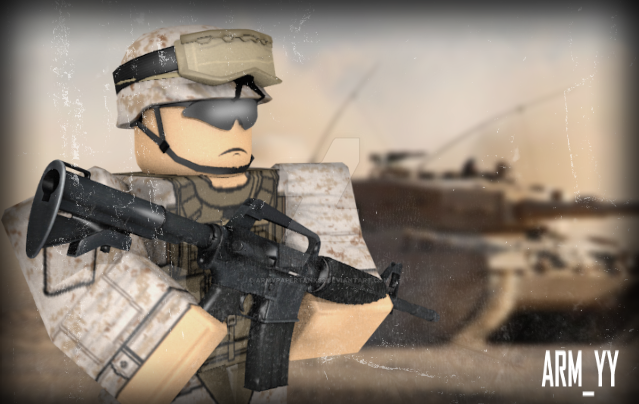 Roblox Marine Gfx By Armypapertanks2 On DeviantArt