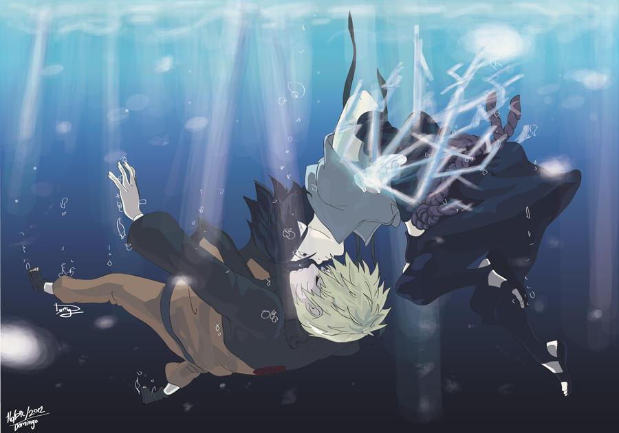 Sasuke and Naruto by Praquina