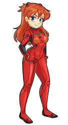 Asuka by Praquina