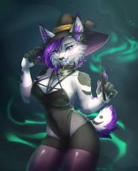 [YCH] Halloween by Praquina