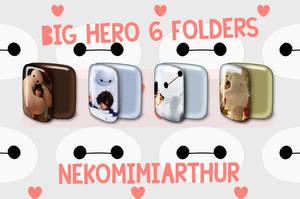 Big Hero 6  folders ByNekomimiArthur