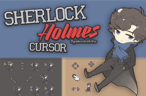 Sherlock Holmes cursor ByNekomimiArthur