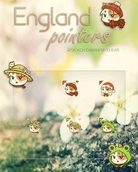 England Cat V2 pointers ByNekomimiArthur by Nekomimiarthur