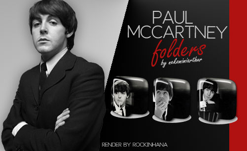 Paul Mccartney Folders ByNekomimiArthur