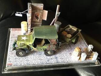 Willys Jeep and Wagon papercraft by EdonTuazon