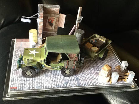 Willys Jeep and Wagon papercraft