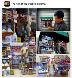 From Facebook 'The ART of the creative diorama'